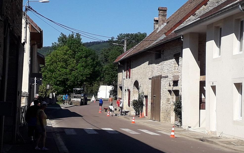 Nettoyage du village le 04/07/2020