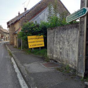 Plan de sécurisation routière de la traversée du village