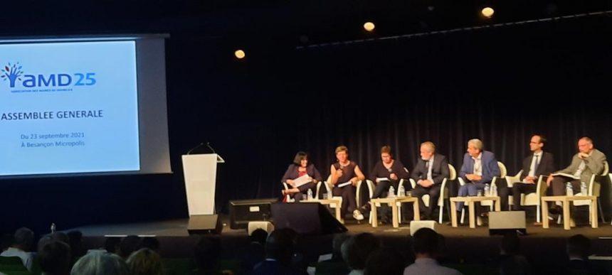 Assemblée Générale de l'association des maires du Doubs (AMD25)